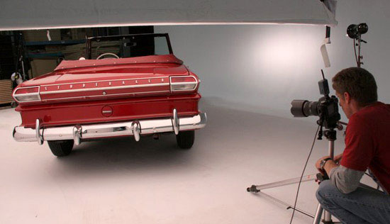 Automobile photographer John Majorossy Studebaker
