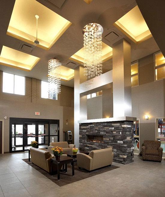 Interior hotel photography Choice Hotel lobby