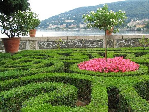 Calendar Photography Gardens on Isola Bella, Stresa, Italy by Tom Bochsler