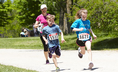 Event Photography family at Tim Horton Children's Foundation Run/Walk May 26 2013
