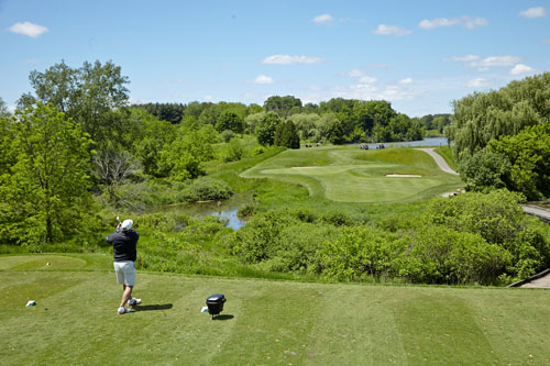 Charity Photography for Tim Horton Children's Foundation golf tournament teeing off by BP imaging