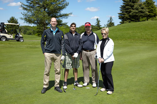 Event Photography Tim Hortons golf tournament group photo by BP imaging