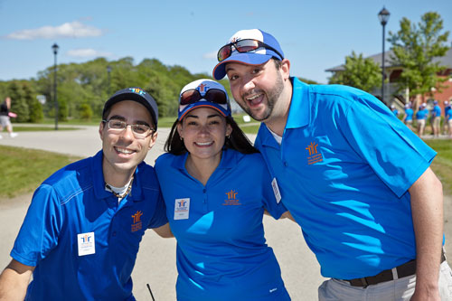 Event Photography for Tim Hortons golf tournament THCF group by BP imaging