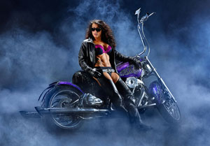 Motorcycle Photography Fitness model Bochsler Photo imaging