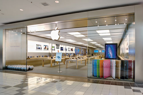 Apple iPad iPod MacBook storefront photography for Mapleview Shopping Centre Burlington, Ontario Ivanhoe Cambridge by BP imaging