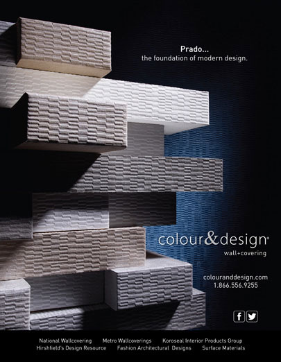 Advertisement photography for Colour & Design Wall Covering Prado BP imaging