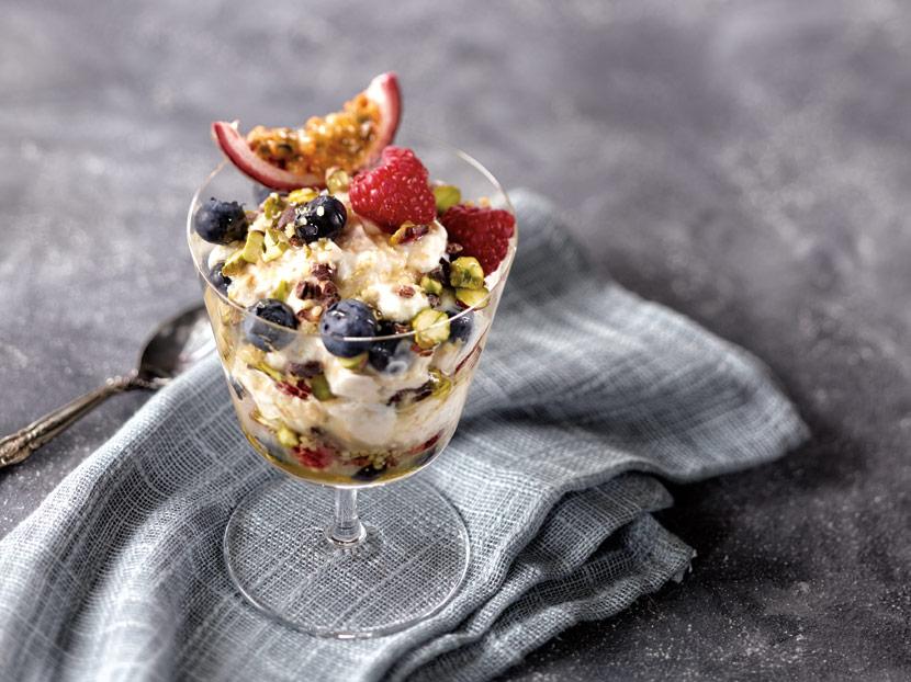 BP imaging Recipe Calendar Food Breakfast Photography Bircher Muesli Parfait