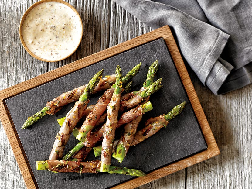 May 2014 Recipe - Grilled Prosciutto Asparagus with Orange ...