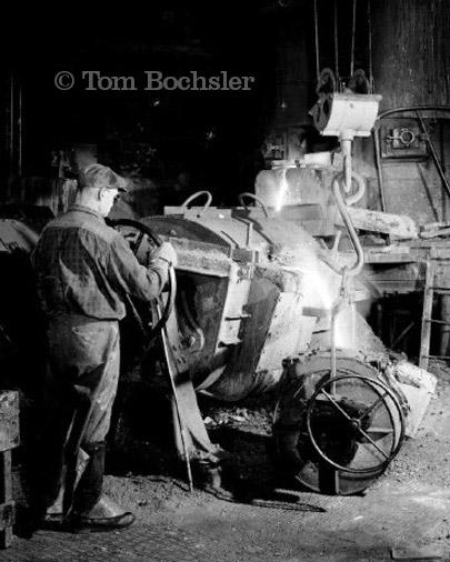 BP imaging Tom Bochsler International Harvester Worker in 1960