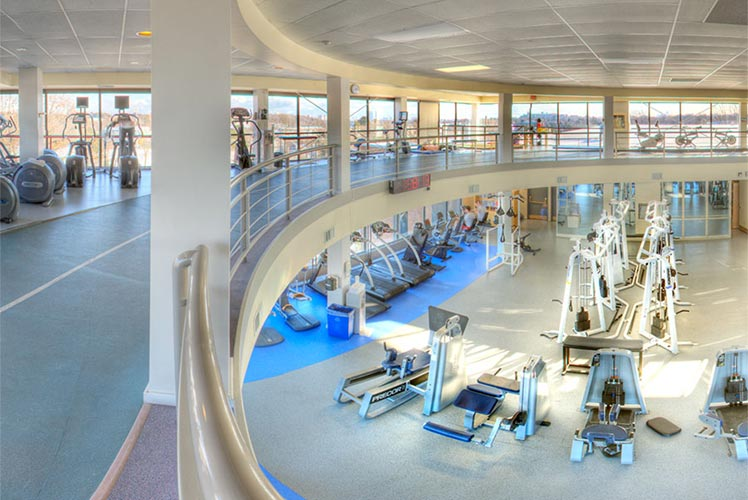 Virtual Reality 360 view athletic centre