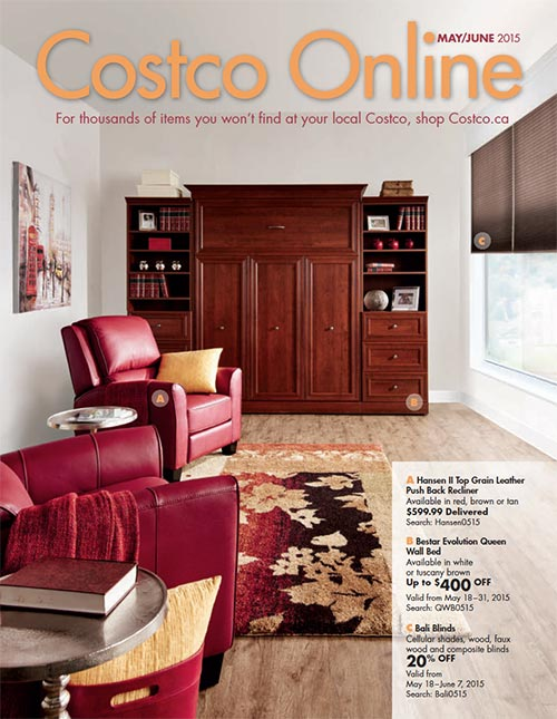 Costco Online Magazine Cover May June 2015 Issue