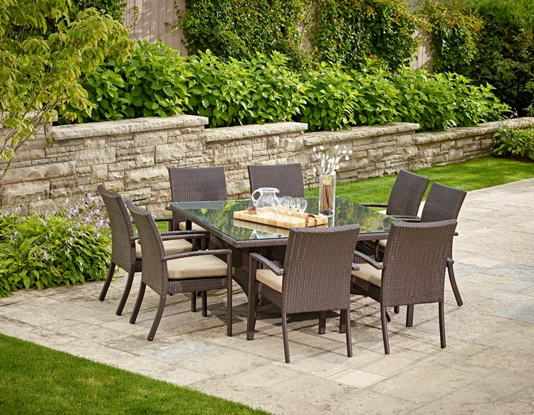Costco Online Outdoor Furniture Including Table And Chairs