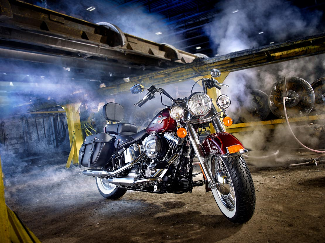 Harley Davidson motorcycle for Rotary Club by BP imaging