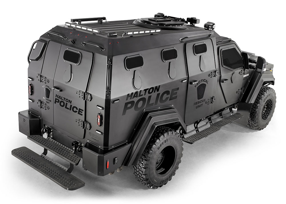 Halton Police armoured vehicle photography by BP imaging