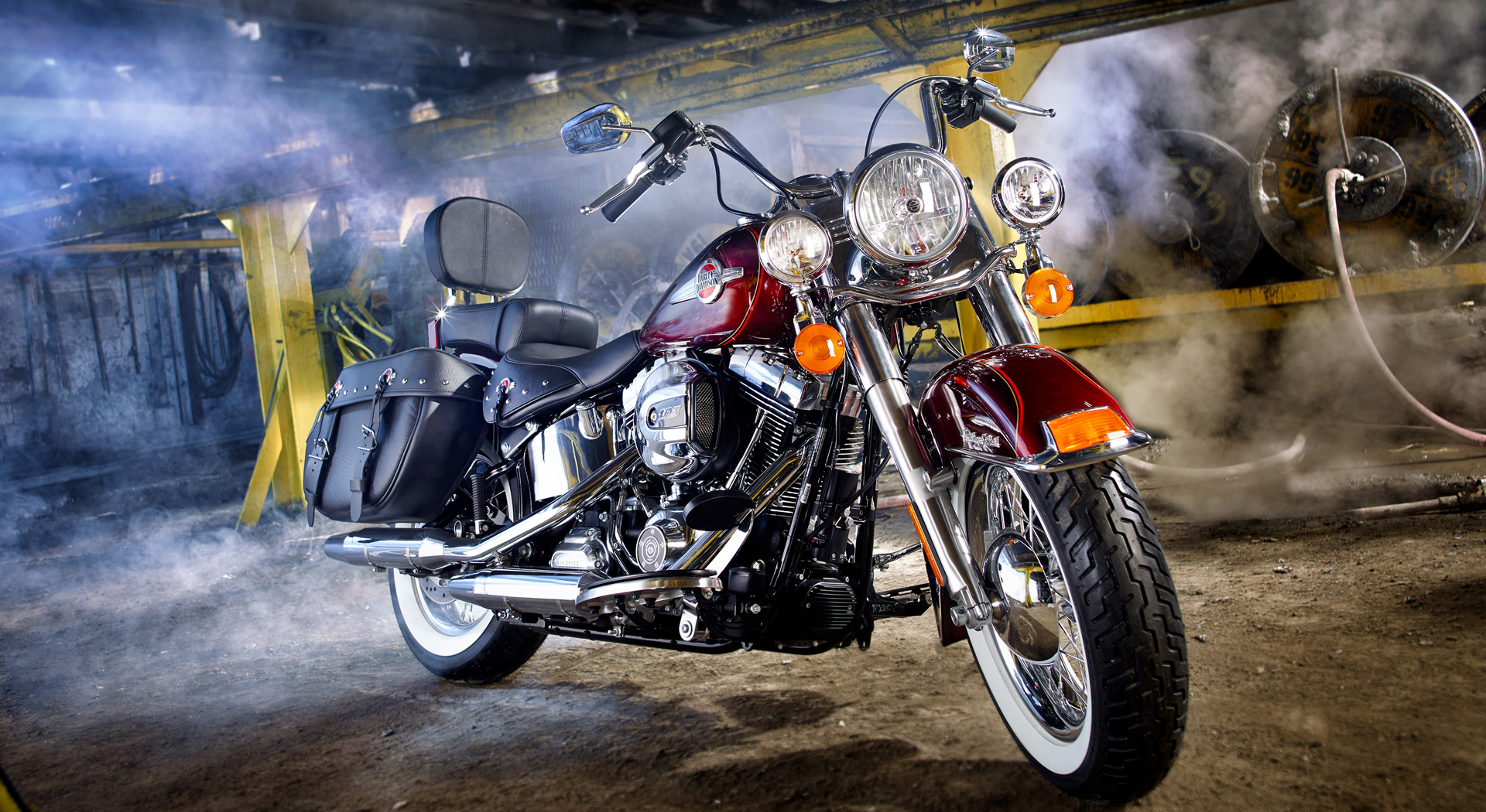 Motorcycle shot for Rotary Club