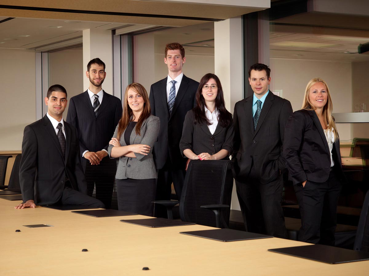 Toronto Team Portrait Photographer business conference room