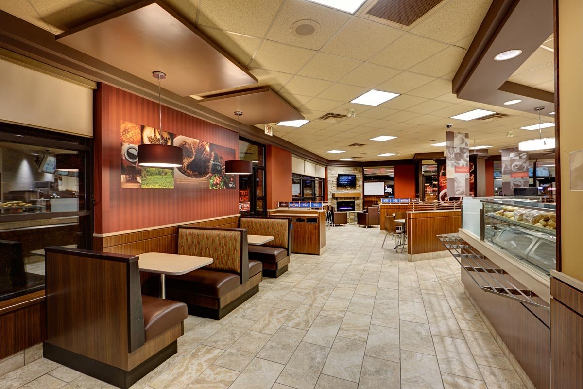 Professional restaurant photography interior exterior