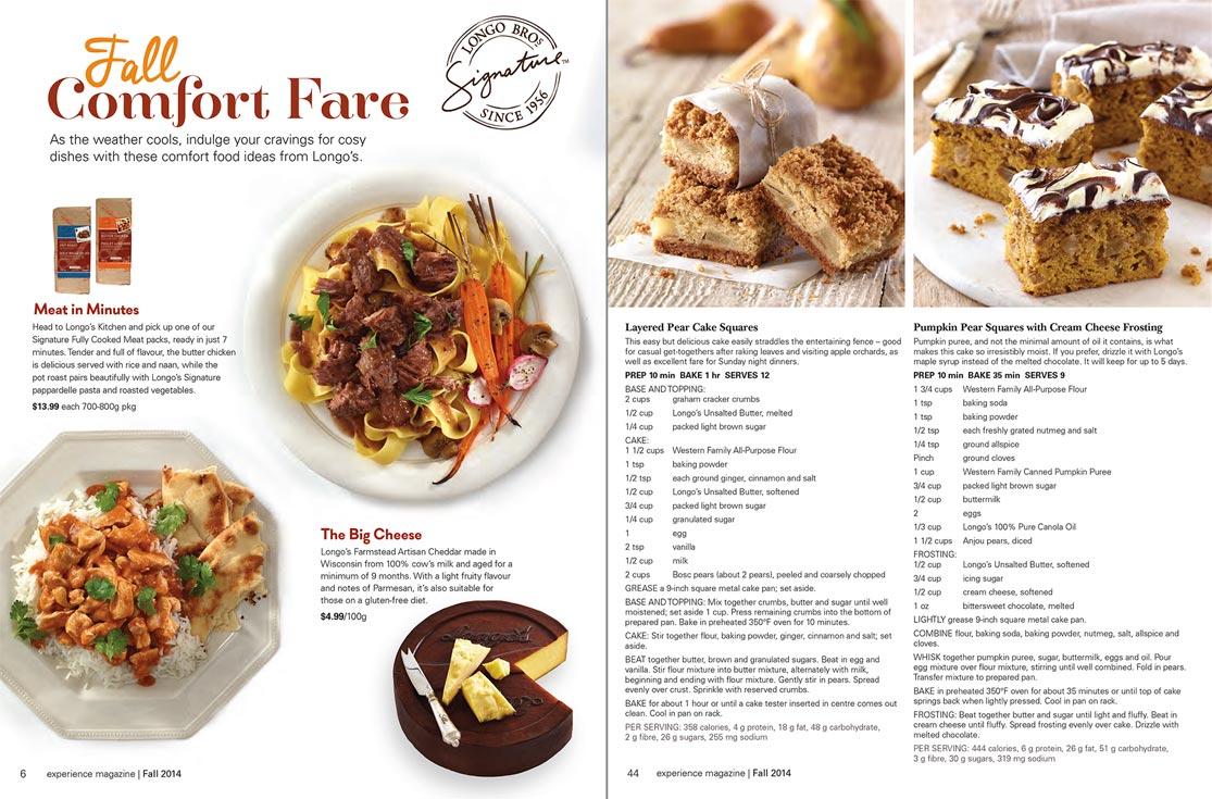 Longos food photography experience magazine bp imaging longos recipe food photography for comfort foods fall experience magazine forumfinder Images