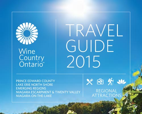 Wine Country Ontario Travel Guide 2015 cover