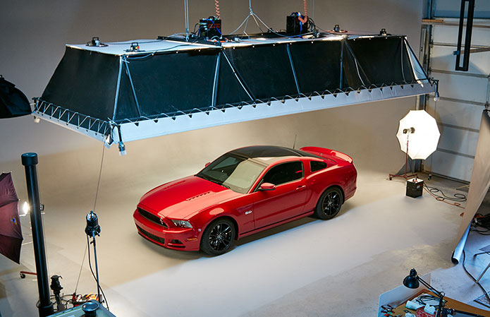 Ford Mustang Studio Photo Shoot  BP imaging