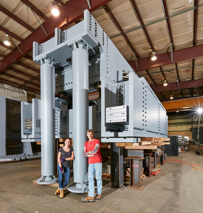A&H Custom Machine Reveals Its Tuned Mass Damper