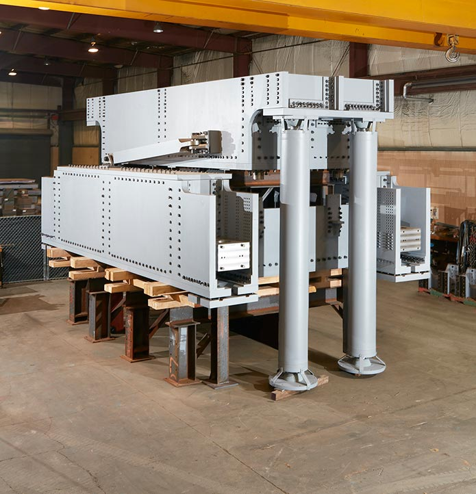 Massive industrial equipment photography tuned mass damper