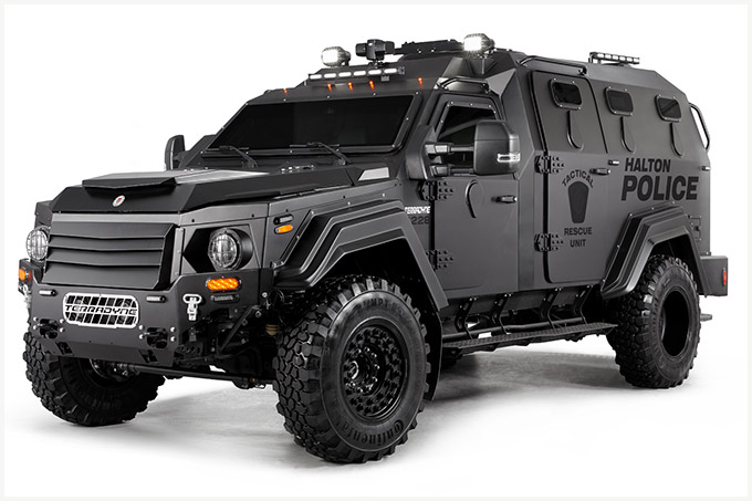 Studio Photography of Armoured Police Vehicle (MPV) | BP ...