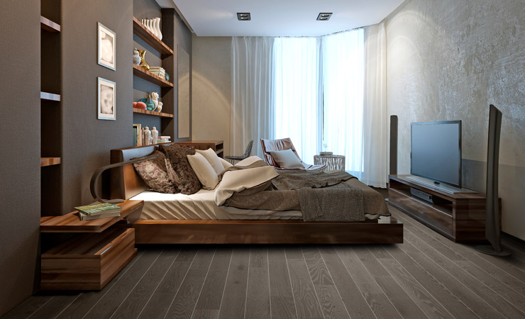 Retouch bedroom flooring after by BP imaging