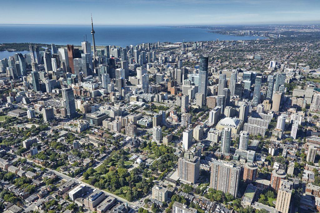 Toronto Aerial Shoot